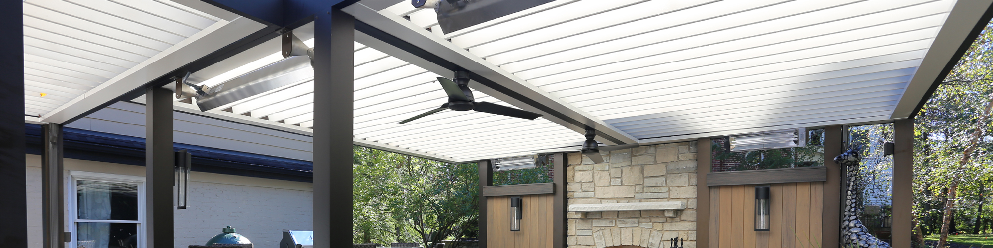 Louvered Roof St. Louis   Patio Covers   Aesthetic Design ...