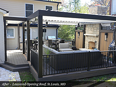 After - Louvered Opening Roof, St.Louis, MO