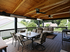 Covered Trex Deck in St. Louis, MO