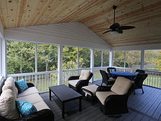 Timbertech Decking and Covered Patio in St. Louis, MO