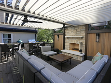 Adjustable Louvered Roof in St. Louis, MO