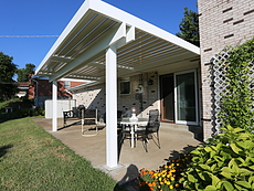 Opening Louvered Roof in St. Charles, MO