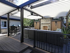Opening Louvered Roof in St. Louis, MO