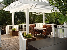 Deck with Pergola in St. Charles, Mo