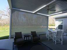 Retractable Solar Shade