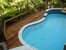 Tigerwood Deck and Pool in St. Louis, MO