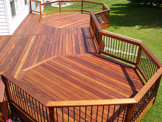 Tigerwood Deck in St. Louis, MO
