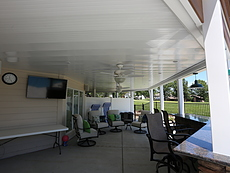 Ventilated Deck Ceiling in St. Charles, MO