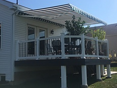 deck, retractable awning, st. louis deck