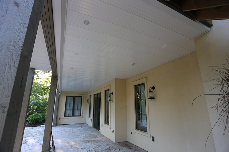 Finished Under Deck Ceiling In St. Louis, MO